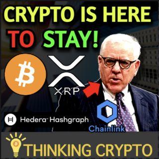 Crypto Is Here To Stay Says Billionaire David Rubenstein - China Bitcoin Mining in Texas - Chainlink HBAR Integration