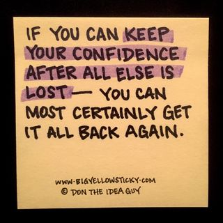 Keep Your Confidence : BYS 179