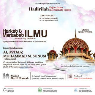 Kajian Tematik - Konsep Metode Mengajar Bahasa Arab Kekinian {Ilmu Al-Lughoh / Applied Linguistics} (Ustadz Muhammad M Sunusi)
