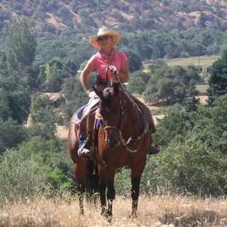 Trail Riding in Three Rivers, California - Christy Wood on Big Blend Radio
