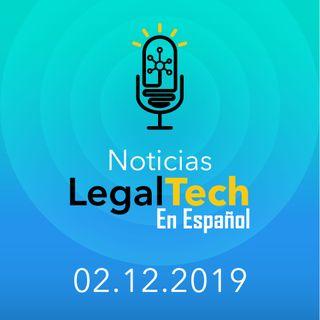 Noticias Legaltech 02.12.2019