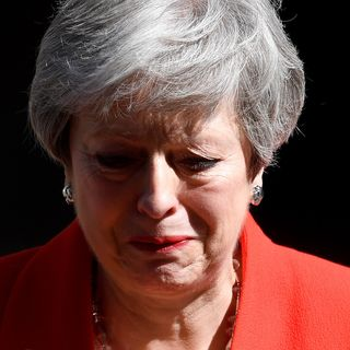 Theresa May's time in Number 10 ends in tears