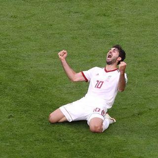 Iran batte Marocco 0:1: è storia