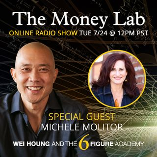 "Episode #73 - The ""You Will Not Be Loved If You Have Money"" Money Story with guest Michele Molitor"
