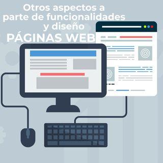 08 Otros aspectos a parte de funcionalidad y diseño Web