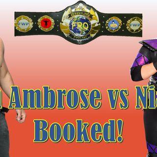 Dean Ambrose vs Nia Jax Booked