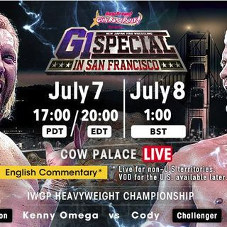 NJPW G1 Special USA 2018
