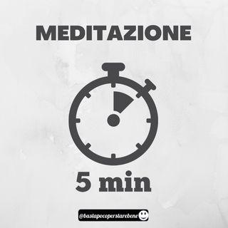 Meditazione 5 minuti