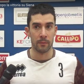 """Vibo Valentia: Davide Marra dopo la vittoria su Siena. """"Una Tonno Callipo quasi perfetta"""""""