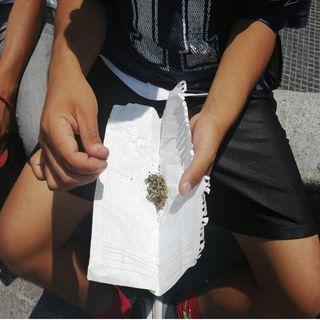 Jóvenes pide legalizar la marihuana