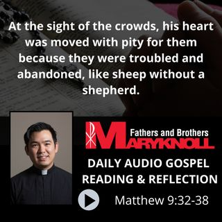 Matthew 9:32-38, Daily Gospel Reading and Reflection