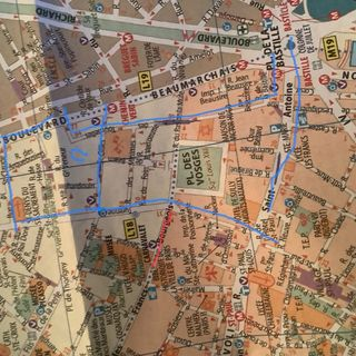 Rue des Tournelles e le storie del Marais, 1 parte