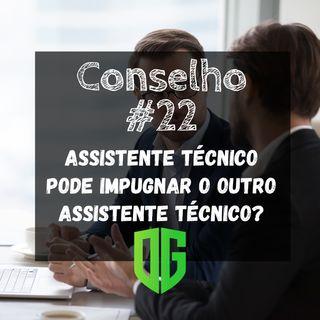 Assistente Técnico pode Impugnar outro Assistente Técnico?
