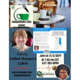Conquerors Cafe Author Spotlight Featuring Author Margaret Lalich