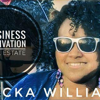 Ericka Williams On Information Man Show Motivation Business Real Estate