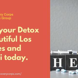 Begin your Detox in pretty Los Angeles today.