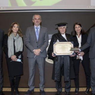 Ascolta la news: Laurea honoris causa in ingegneria meccanica ad Amilcare Merlo