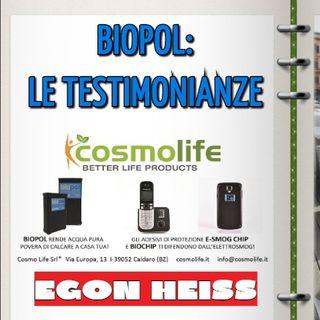 Tom Bosco ed Egon Heiss: Biopol, le testimonianze. Fisica quantistica e tecnologia di benessere
