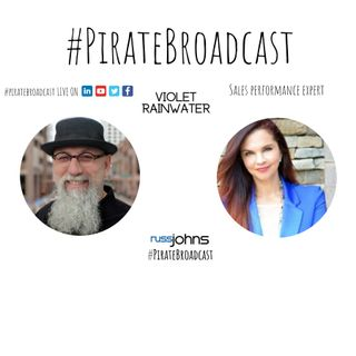 Catch Violet Rainwater on the PirateBroadcast