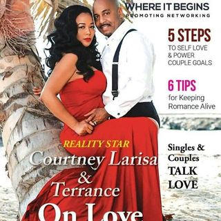 """Ready To Love"" Reality Star Courtney Larisa & her husband Terrance stop by to share relationship tips with Patricia & Kenny"