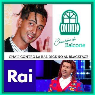 Ghali contro la Rai, dice no al blackface.