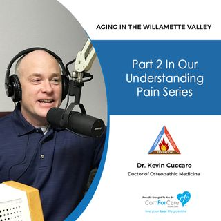 "7/24/18: Dr. Kevin Cuccaro with Straight Shot Health | Part 2 in our ""Understanding Pain"" series 