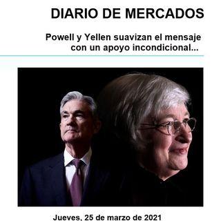 DIARIO DE MERCADOS Jueves 25 Marzo