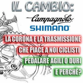 La corona e la trasmissione che piace a noi ciclisti.