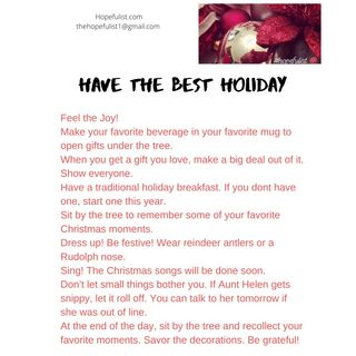 Make it your best holiday ever! Ep. 174