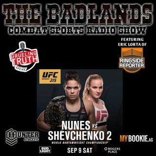 The Badlands Combat Sports Radio Show (September 9, 2017)