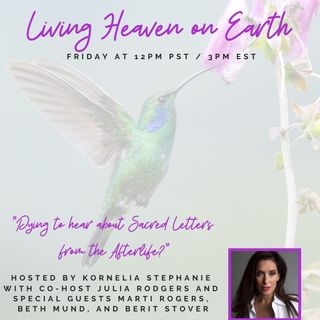 Dying to hear about REAL Letters from the Afterlife? With Hummingbird Jewel