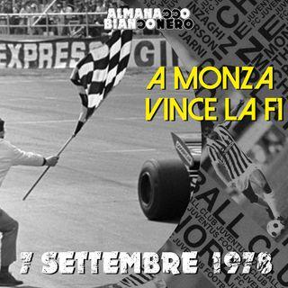 7 settembre 1978 - A Monza vince la F1