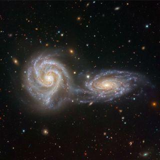 40 - Come nasce una Galassia? Sapevi che possono scontrarsi? Vita e avventure delle Galassie vicine e lontane- Astrofisica