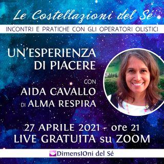 """Aida Cavallo """"Un'esperienza di piacere"""""""