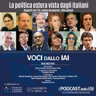 La politica estera vista dagli italiani