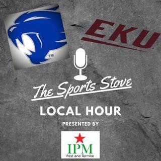 Local Hour Ep3 EKU Voice Greg Stotelmyer, EKU vs Indiana St and UK vs Chattanooga