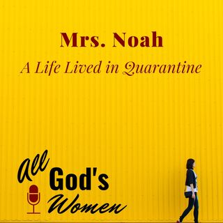 Mrs. Noah - A Life Lived in Quarantine