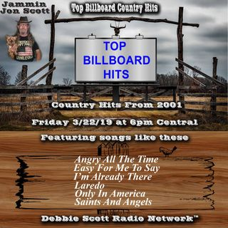 Billboard Top Country Music Hits of 2001 3-22-19