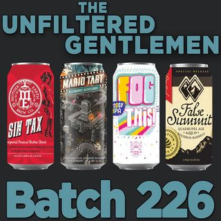Batch226: Mother Earth Sin Tax, Humble Sea Fog This, 8 Bit Mario Tart & Elevation Beer Co. False Summit