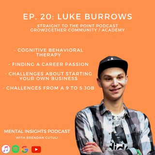 Seeking Passion Within Your Life? | With Luke Burrows