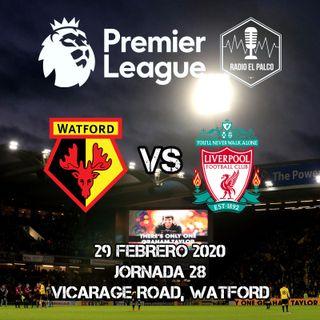 Watford vs Liverpool en VIVO