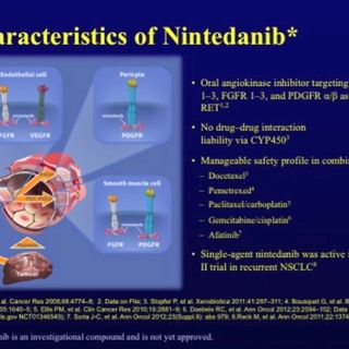 ASCO Lung Cancer Highlights, Part 11: Nintedanib with Second Line Chemotherapy for Advanced NSCLC (video)
