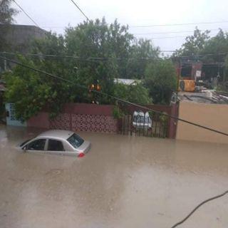 Grandes inundaciones deja Hanna por su paso en Tamaulipas