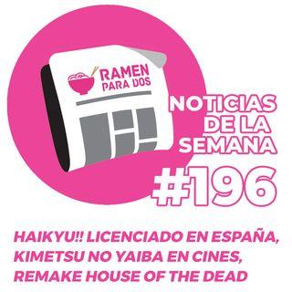 196. El manga de Haikyu!! licenciado en España, estreno en cines de Kimetsu no Yaiba
