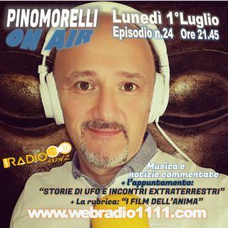 """""""Pino Morelli On Air"""" Puntata n.24 del 1°Luglio 2019"""