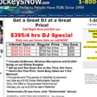 Disc Jockeys Now