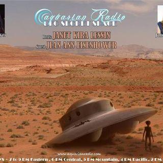 Jean Ann Eisenhower ~ Part IV ~ 11/27/20 ~ UFO Secret Space ~ Host Janet Kira Le