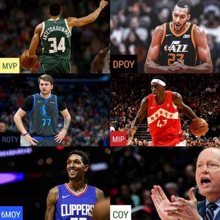 NBA Awards, Free Agency next week