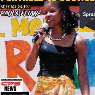 Episode 318 - Porthole to Justice Guest Activist Paula Flowe