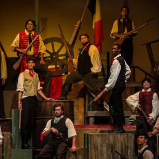 Les Miserables at Albuq Little Theatre
